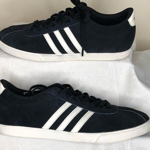 Adidasneo comfort footbed suede/ leather Sneaker